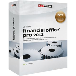 Lexware Financial Office Pro 2013 V13.5 32/64 Bit Deutsch Office Update PC (DVD)