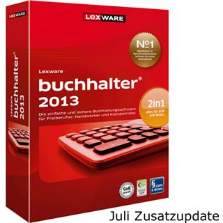 Lexware Buchhalter 2013 32/64 Bit Deutsch Office Update PC (DVD)