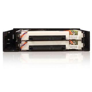 "Startech 3,5"" Wechselrahmen für 2x 2.5"" Festplatten (HSB220SAT25B)"