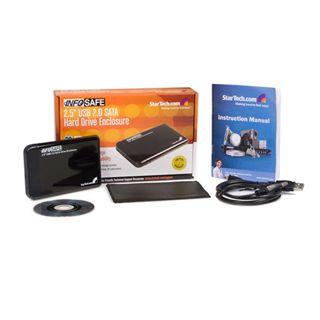 "Startech SAT2510BU2 2.5"" (6,35cm) USB 2.0 schwarz"