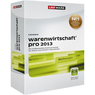 Lexware Warenwirtschaft Pro 2013 Juli 32/64 Bit Deutsch Office Vollversion PC (DVD)