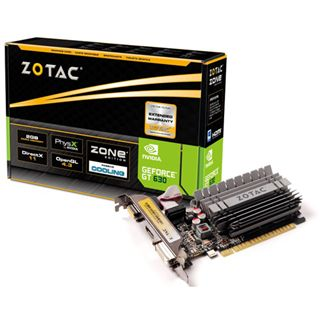 2GB ZOTAC GeForce GT 630 Zone Edition Passiv PCIe 2.0 x16 (Retail)