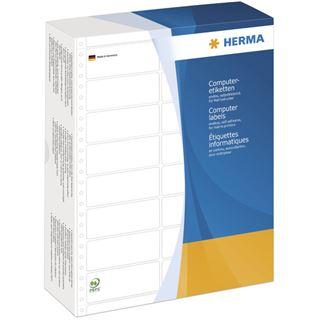 Herma 8225 weiß Computeretiketten 10.16x3.57 cm (8000 Stück)