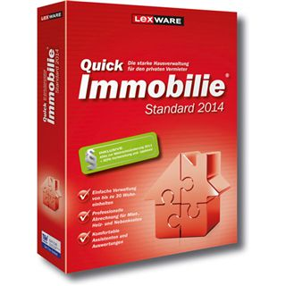 Lexware QuickImmobilie 2014 32 Bit Deutsch Office Upgrade PC (CD)