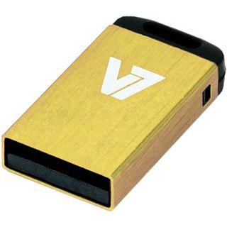 8 GB V7 Nano gelb USB 2.0