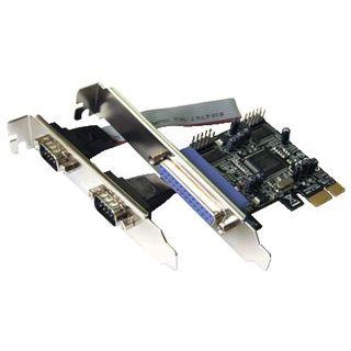 Dawicontrol DC-9112 3 Port PCIe x1 zweites Slotblech retail