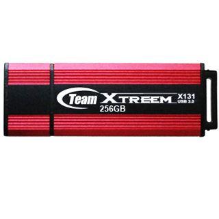 256 GB TeamGroup Xtreem X131 rot/schwarz USB 3.0