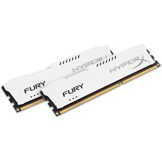 8GB HyperX FURY weiß DDR3-1333 DIMM CL9 Dual Kit
