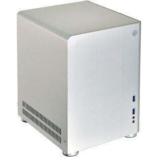 Lian Li PC-Q01A Mini-ITX ohne Netzteil silber