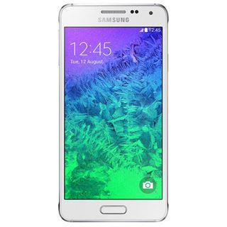 Samsung Galaxy Alpha G850F 32 GB weiß
