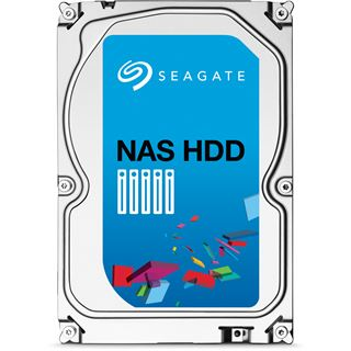 "6000GB Seagate NAS HDD ST6000VN0001 128MB 3.5"" (8.9cm) SATA 6Gb/s"
