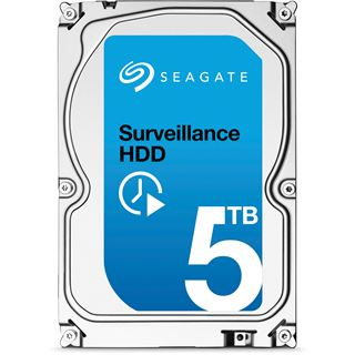 "5000GB Seagate Surveillance HDD +Rescue ST5000VX0011 128MB 3.5"" (8.9cm) SATA 6Gb/s"