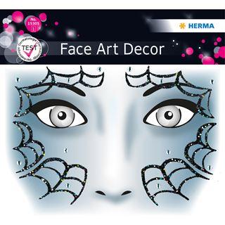 Herma Face Art Sticker Spider