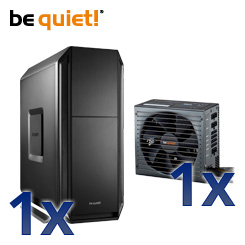 be quiet! SILENT BASE 800 und Straight Power 10 – flüsterleise Power im neuen Zuhause!