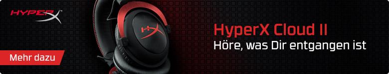 HyperX Cloud II - Höre, was Dir entgangen ist