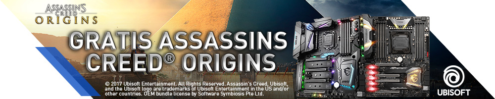 MSI ASSASSINS CREED® ORIGINS